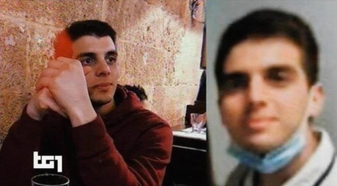 In un frame del Tg1 Antonio De Marco, lo studente 21 enne arrestato ieri sera per l'omicidio di Daniele De Santis e della sua fidanzata Eleonora Manta. ANSA +++ ATTENZIONE LA FOTO NON PUO? ESSERE PUBBLICATA O RIPRODOTTA SENZA L?AUTORIZZAZIONE DELLA FONTE DI ORIGINE CUI SI RINVIA +++ ++ HO - NO SALES, EDITORIAL USE ONLY ++