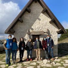 Biccari press tour rifugio Monte Cornacchia