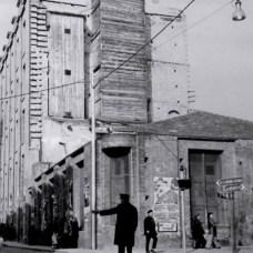 Inizi anni '60- Via Arcivescovado-Il mulino-pastificio D'Onofrio & Longo, dopo l'incendio