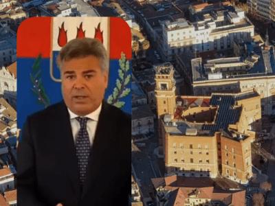 Il sindaco Franco Landella (combo SQ)
