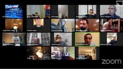 Consiglio comunale di Foggia, online 16 dicembre 2020