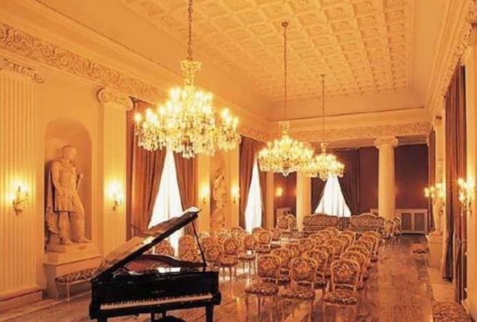 Sala Fedora del teatro U. Giordano