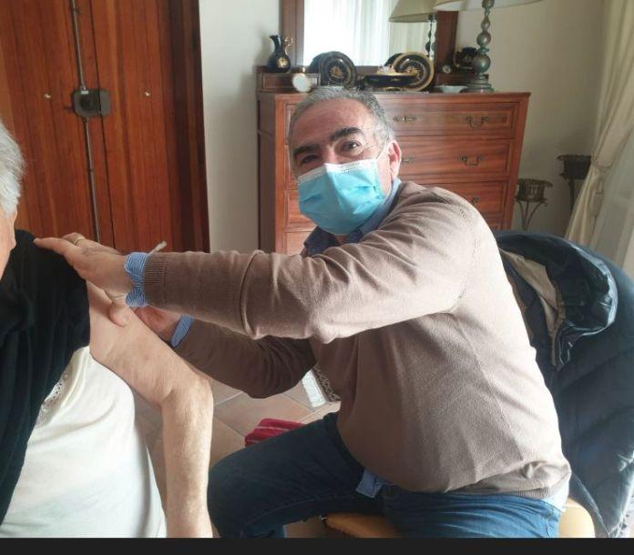 Vaccinazioni dei MMG a over80 domicilio - Asl Foggia - 2
