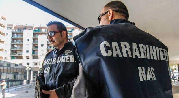CARABINIERI NAS, IMMAGINE D'ARCHIVIO - FONTE IMAGE Il Messaggero