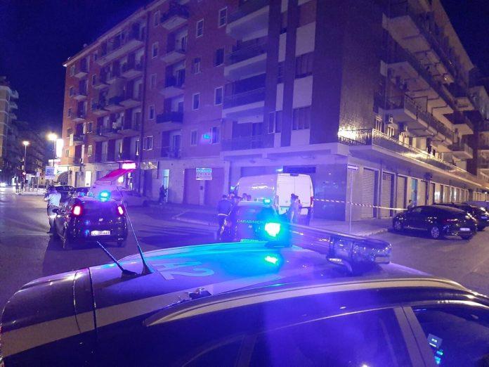 Foggia. Esplosi colpi di pistola tra via de Liguori e via sant'Antonio (FOTO)