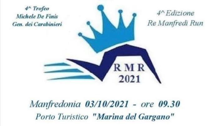 """Manfredonia in festa per la IV Edizione """"Re Manfredi Run"""". Appuntamento al 3 ottobre"""