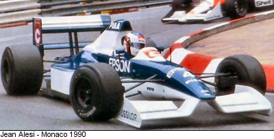 Image result for tyrrell 019 imola
