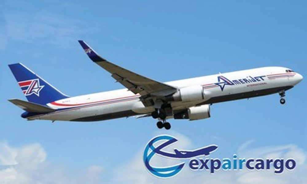 Amerijet appoints Exp-Air Cargo as Canada sales agent
