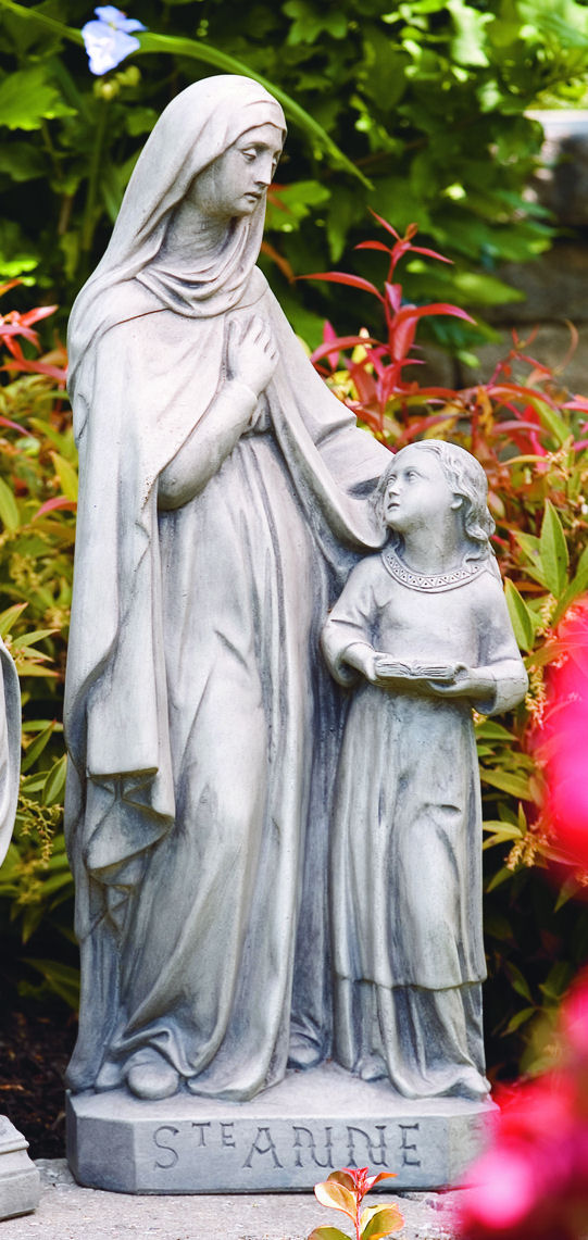 Saint Anne & Child Large Garden Statue