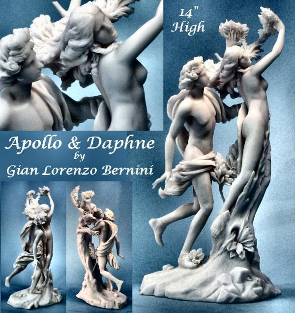 Apollo and Daphne Statue by Gian Lorenzo Bernini