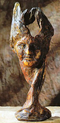 Boreas The North Wind Bust Sculpture