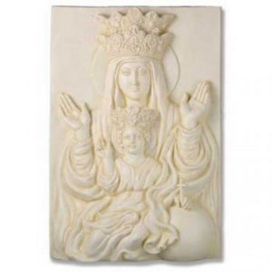 reliefs-for-sale-mary-and-child-placque-rel1008-1
