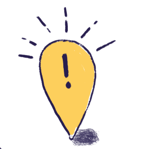 yellow bulb pinpointing location