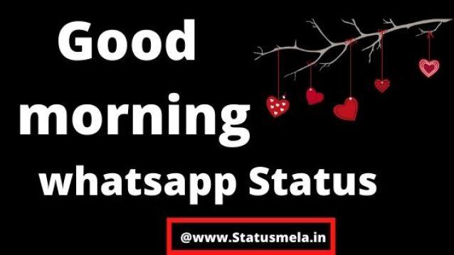good morning images status in hindi