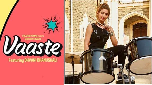 dhvani bhanushali vaaste lyrics in hindi