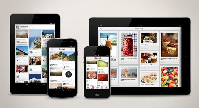 Pinterest incrementa el número de usuarios gracias a sus herramientas y a las aplicaciones en Android y iOS