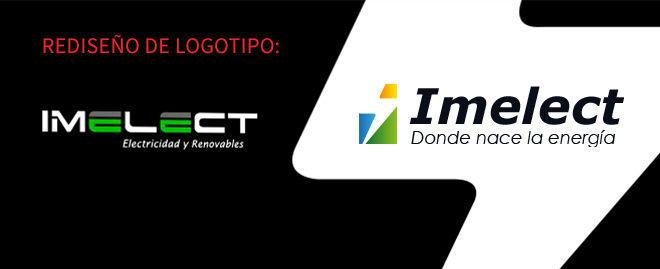 Diseño de logotipo Imelect