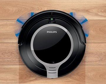 Philips FC8710/01 SmartPro Compact Robotersauger 2 Reinigungsstufen, Vorprogrammierung, Fernbedienung - 5