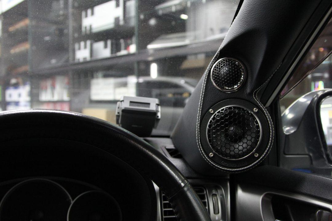 Subaru WRX - Speakers