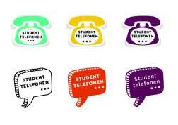 Studenttelefonen logo alle