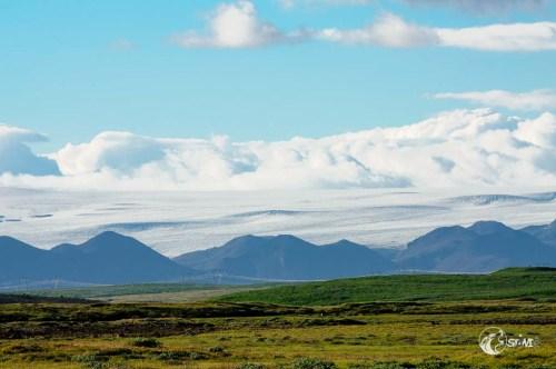 Langjökull ist der zweitgrößte Gletscher von Island.