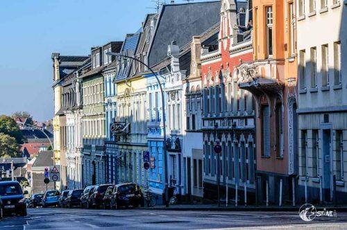 Farben, Licht und Schatten, der Altstadt