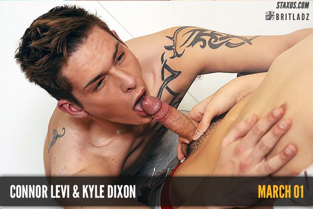 An office fuck for Connor Levi and Kyle Dixon