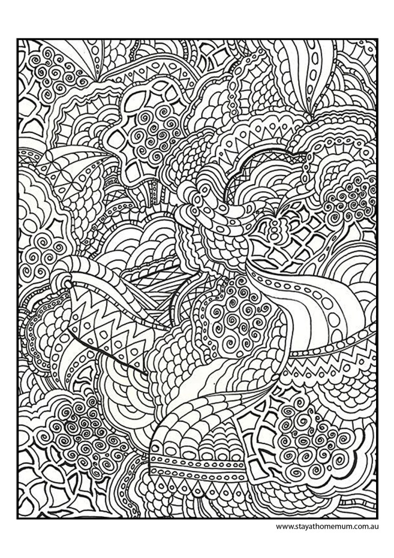 Printable Colouring Pages for Kids and Adults | free printable colouring pages for adults
