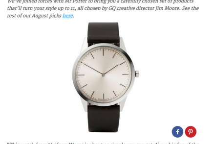 GQ For Me And You - Simple Watch - Stay Classic