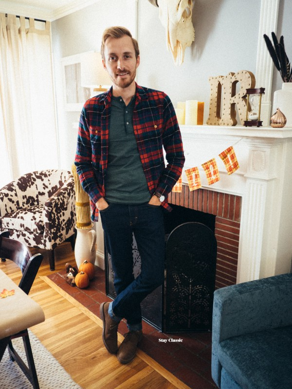 Holidays with J. Crew Factory - Stay Classic