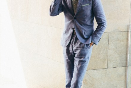 Linen Suiting in Mexico - Stay Classic