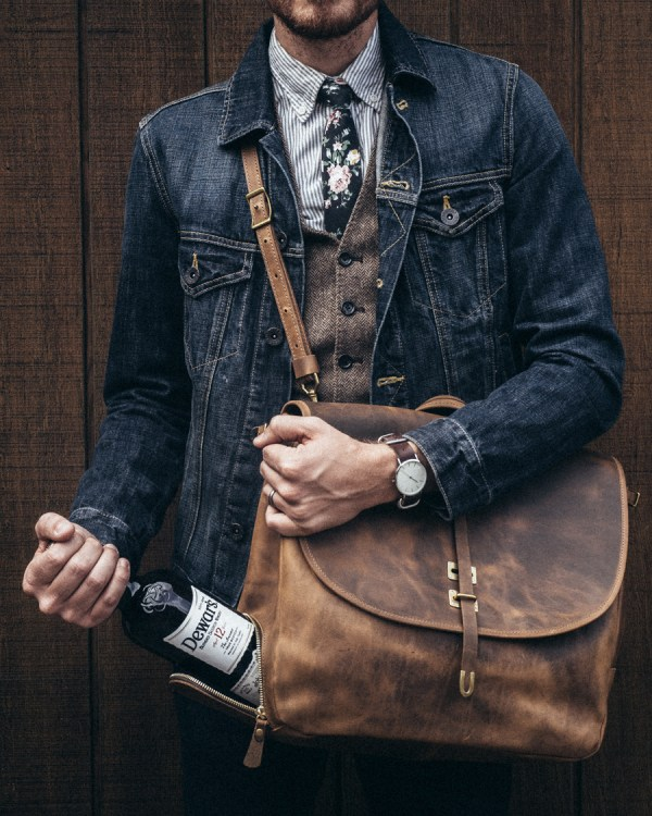 Denim, Leather, and Scotch - Stay Classic