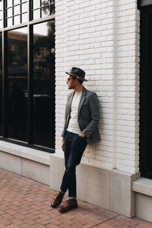 Blazer and Henley with Goodfellow & Co. - Stay Classic