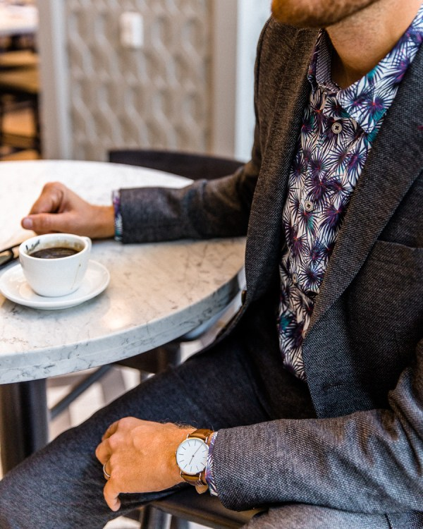 Coffee and Fall Suiting - Stay Classic