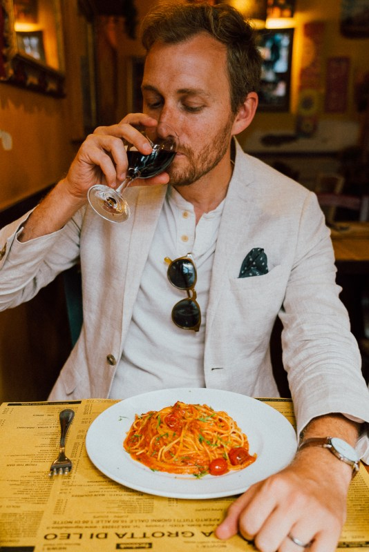 Pasta, Wine, and Gelato. - Stay Classic