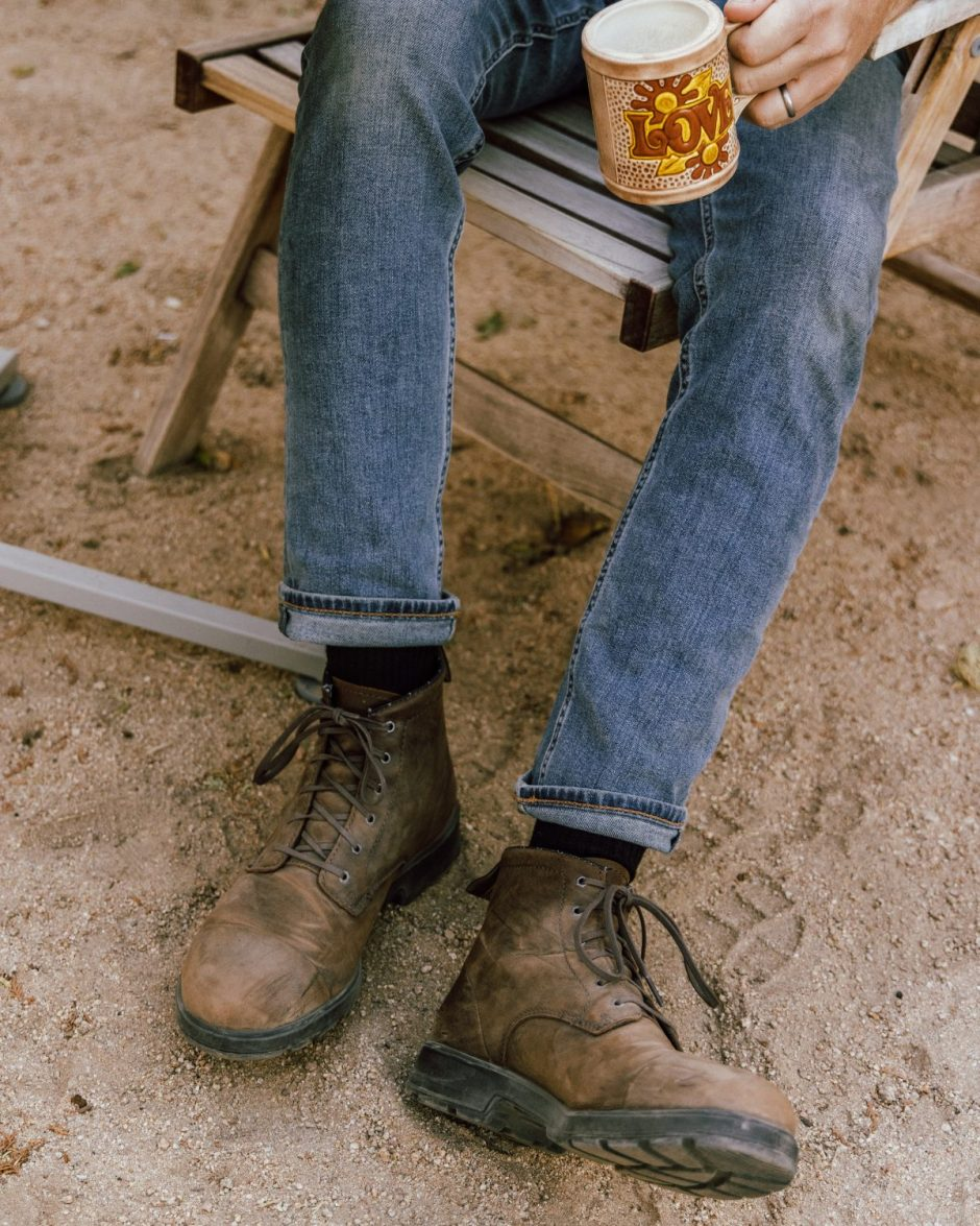 New Boots with Tread - Stay Classic