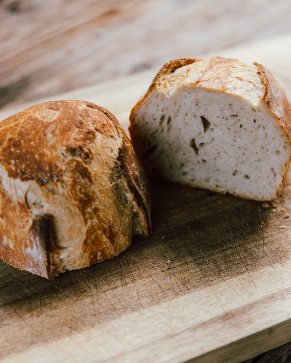 Easy Rustic Crunchy No Knead Bread Recipe - Stay Classic