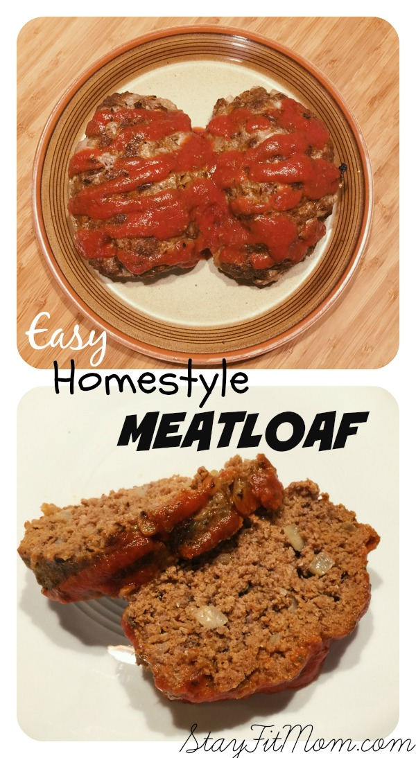 Easy Paleo Homestyle Meatloaf - Stay Fit Mom