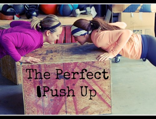 I've been doing push ups on my knees forever! I'm going to try this!