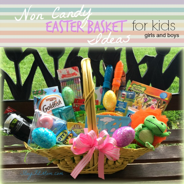 Non candy kids easter basket stay fit mom kids easter basket ideas negle Image collections