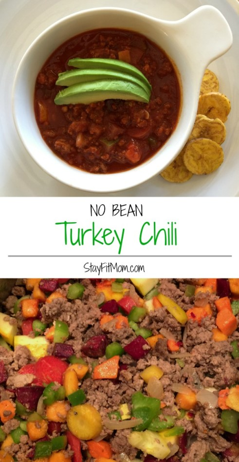 Super easy, Whole30 compliant Turkey Chili. This will be my first Whole30 meal!