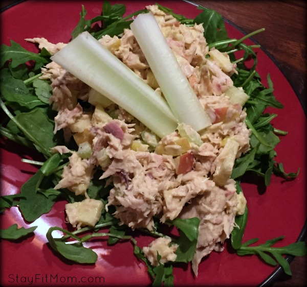 Simple canned tuna for Whole30 compliant lunch