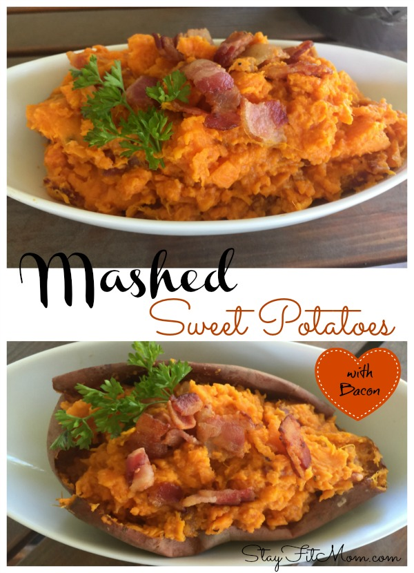 This combination of sweet potatoes and salty bacon is to die for!