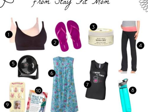 All our favorite things for pregnancy!