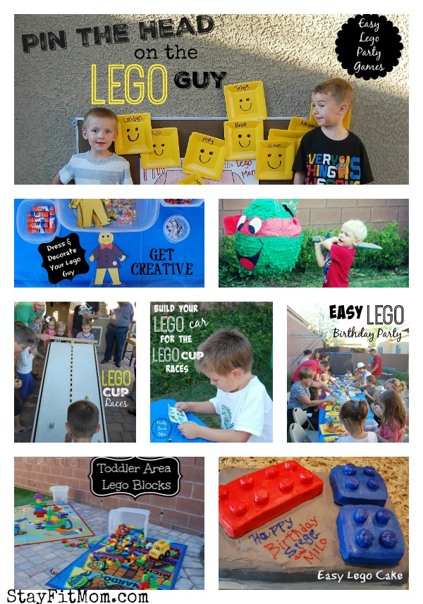 Easy Lego Birthday Party Stay Fit Mom