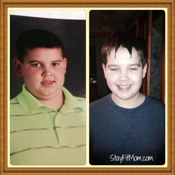 a 10 year old's transformation on Whole30!