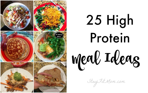 25 easy high protein meal ideas stay fit mom forumfinder Gallery