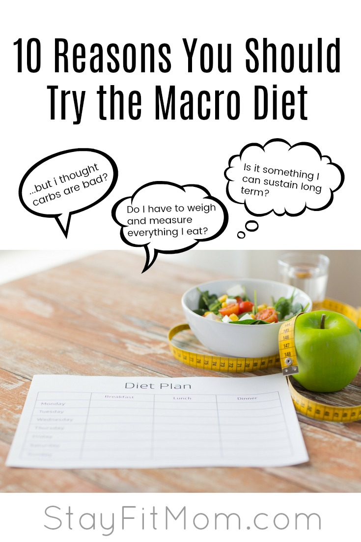 Food freedom and never eliminate a food group again! We love the macro diet! #stayfitmom #macrodiet #macros #iifym
