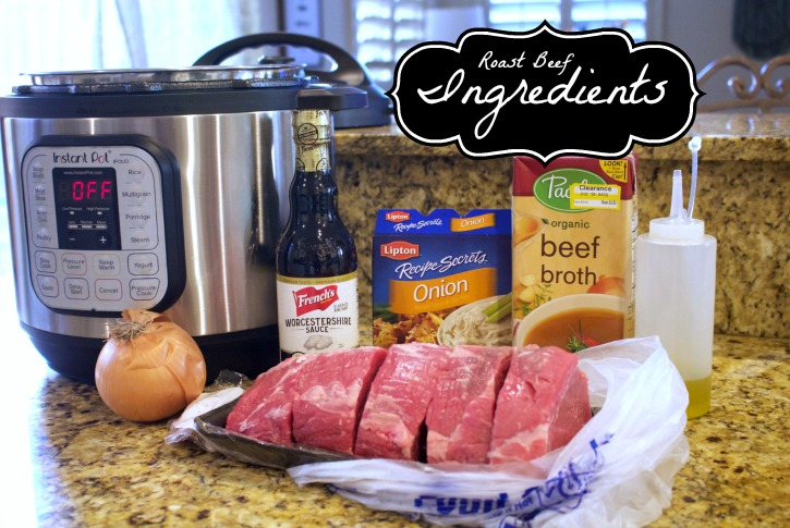 Tender, juicy, macro friendly French dip sandwiches in the Instant Pot or slow cooker. #stayfitmom #frenchdip #roastbeef #macrofriendly #easyrecipe