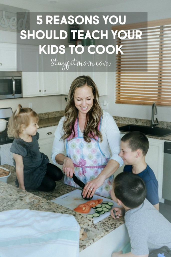 I need to get my kids involved in the kitchen! So many easy ways to do so. #stayfitmom #kidscooking #kidscook